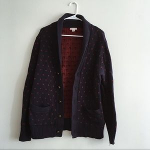 Patterned Cardigan Sweater